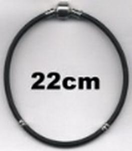 Armband van rubber 22 cm