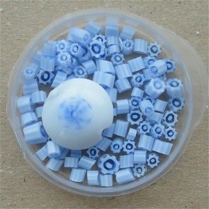 Murrini in blue and white
