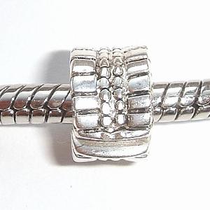 Clip met bobbeltjes en streepjes