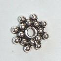 Zilveren spacer zonnestraaltje 6,5 mm