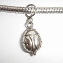 Zilveren hanger lieveheersbeestje