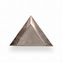 Triangular tray for frit or enamel