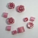 Murrini in pink and rubino oro