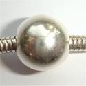 Zilveren kraal bal