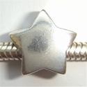 Zilveren kraal ster