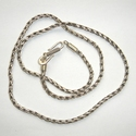 Sterling silver necklace Singapudu antique 45 cm