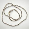 Sterling silver necklace Singapudu antique 50 cm