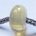 Zeel licht topaas zilverglas met parelmoereffect