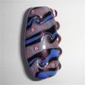 Focal in blauw, paars en roze