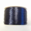 SK03 - Satijn koord donker blauw, 5 meter