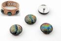 Popper - button dichroic multicolor