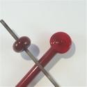 438 - Zeer donker rood - Rosso porpora scurissimo