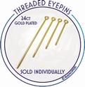 Interchangeable eyepin 40 mm