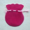 Velvet bag pink