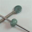 854 - turquoise grey pastille - 100 gram