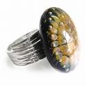 Ring basis schors ruw, verstelbaar, schroefdraad 2,5 mm