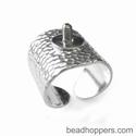 Ring basis gehamerd, verstelbaar, schroefdraad 2,5 mm
